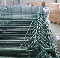 Home Garden Factory Trellis PVC Folding Welded v 3d Wire Mesh Fence for Sale