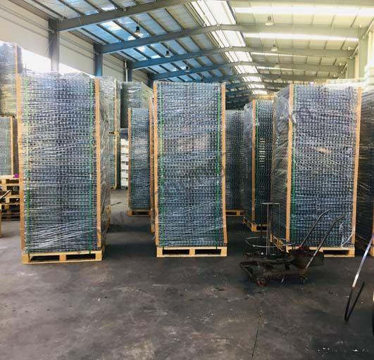 High Strength Heavy Duty Racking Protective Steel Wire Mesh Partition  2
