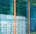 High Strength Heavy Duty Racking Protective Steel Wire Mesh Partition  3