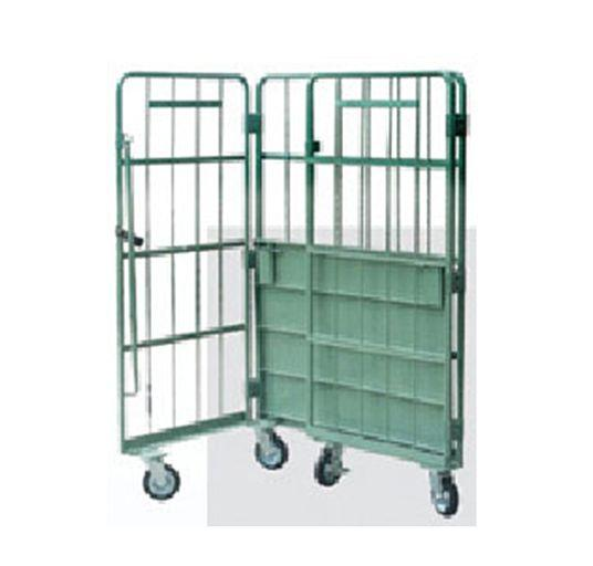 Logistics Truck   Wire Containers Exporter  Pallet Rack Wire Mesh Deck  1