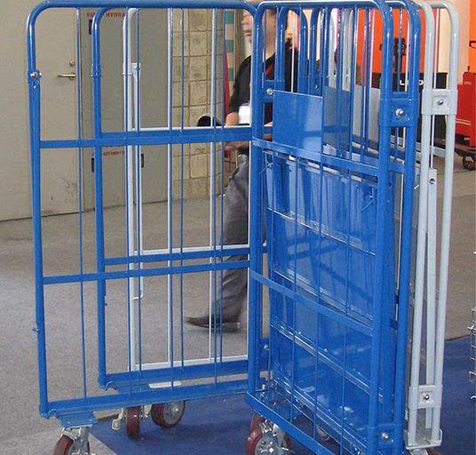 Logistics Truck   Wire Containers Exporter  Pallet Rack Wire Mesh Deck  3