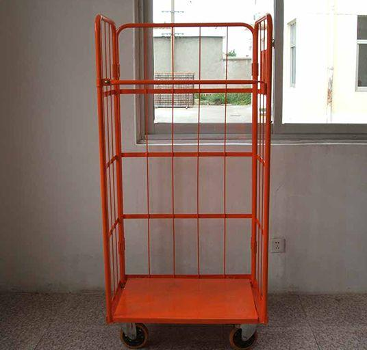 Logistics Truck   Wire Containers Exporter  Pallet Rack Wire Mesh Deck  4