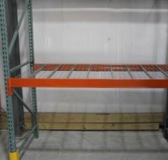 Warehouse Racking Systems Storage Metal Grid Wire Mesh Deck  Mesh Deck
