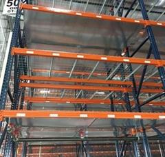 U type Wire Deck    pallet rack wire decking
