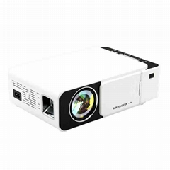 T5 800*480 lcd portable wireless 1080p support video movie projector