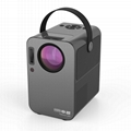2020 Newest 720p hd mini projector BBC2 with hifi bluetooth speaker
