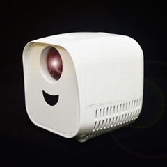Cheapest 480*320 lcd led mini portable movie video projector L1
