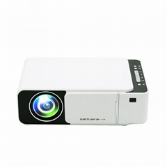 Amazon top quality 800*480 lcd led portable wifi projector T5