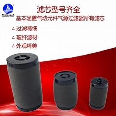 厂家直销微雾分离滤芯AFD40P-060AS AFD30P-060AS AFD20P-060AS过滤器精密滤芯