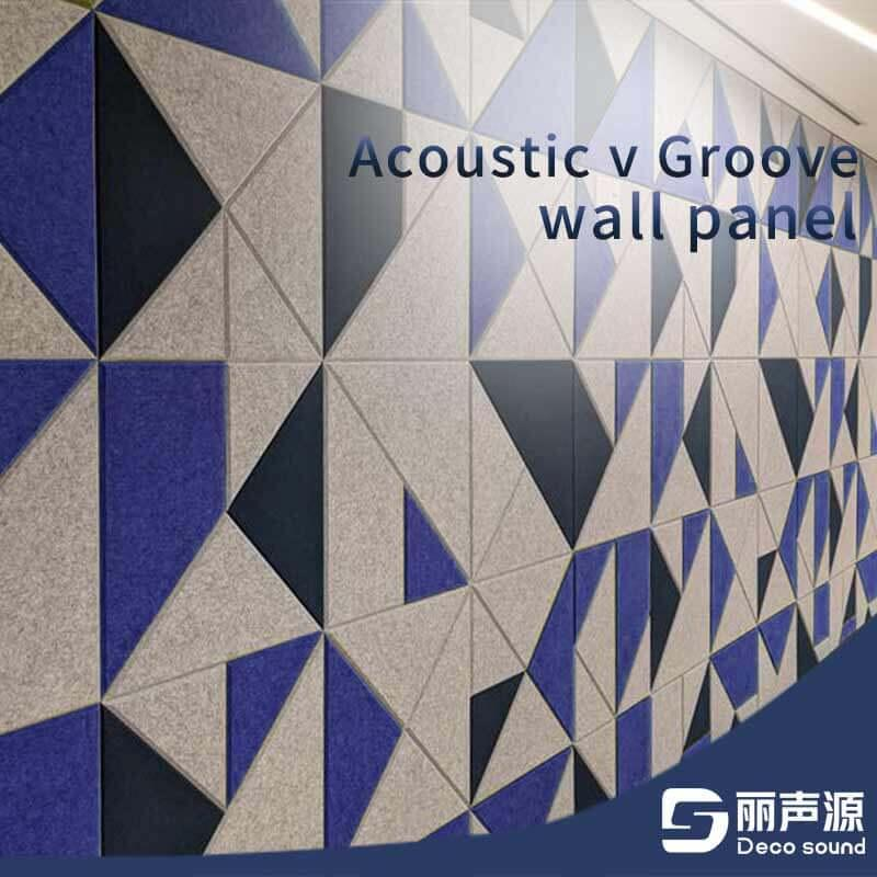 Acoustic V Groove Wall Panel 2