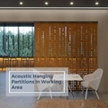 Acoustic Hanging Partitions Decorate in