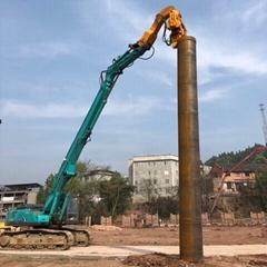 徐工370挖掘機打樁臂