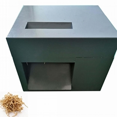 Mini crinkle paper shredder for retail shop crinkle cut paper machine
