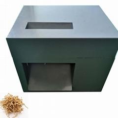 Mini crinkle paper shredder for retail shop crinkle cut paper machine