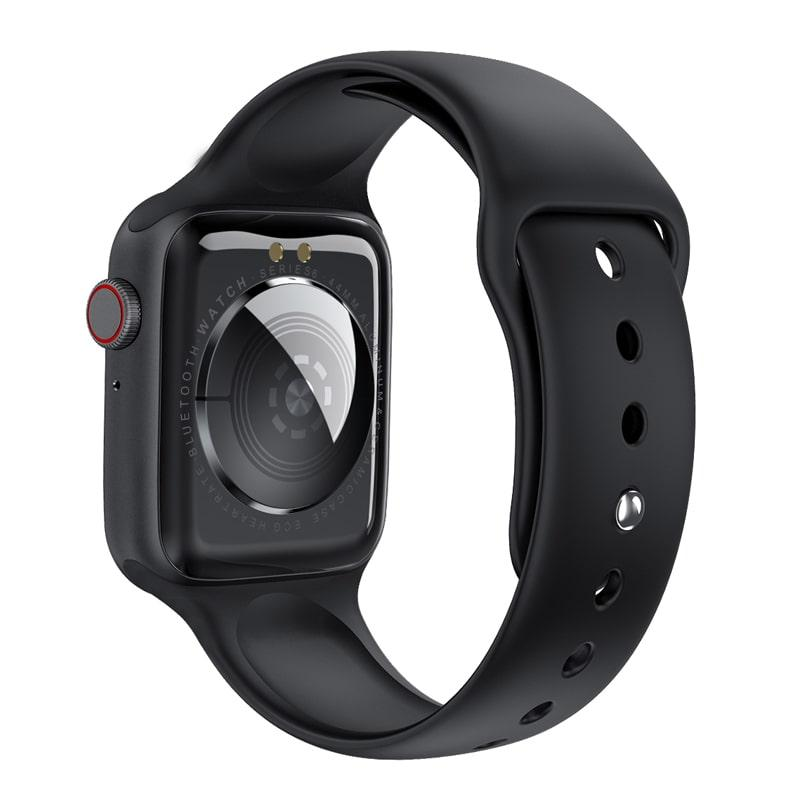 W26 Smart Watch Series 6 1.75 inch Full Touch Screen ECG PPG Heart Rate Monitor  5