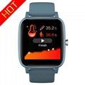 T98 Smart Watch Body Temperature Blood