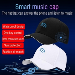 Newest Smart Sport Cap Wireless Bluetooth Call Headset Sun Protection Music Hat
