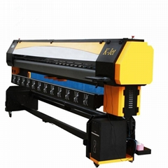 3.2M Solvent Printer with 8 Konica 512 Printing Machine  large format printer