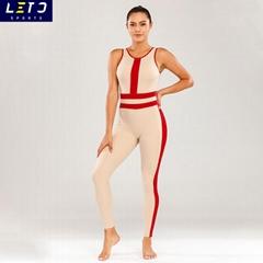Custom Logo Athletic Wear High Waist Compression Fitness Legging