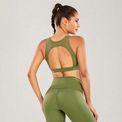 High quality Breathable Cross Gym Sports Yoga Bra Sports Bra Active Wear