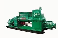 Brick Making Machine Jkr40/40 B2 Double Stage Vacuum Extruder