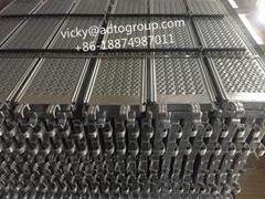 """Scaffold Plank 12.5"""" W Steel Plank O type Steel Plank  320 Steel Plank HDG"""