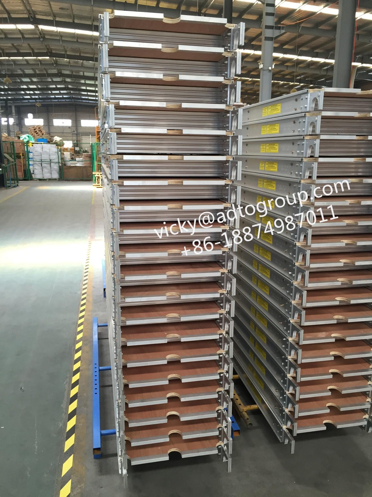 Scaffolding Plank  7' 8' 10' Aluminum Plywood Deck  Aluminum Plank 3