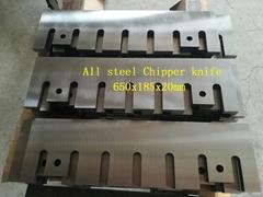 All steel Chipper knife