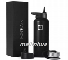 Iron Flask Sports Water Bottle Hydro Metal Canteen Vacuum Insulated Stainless St
