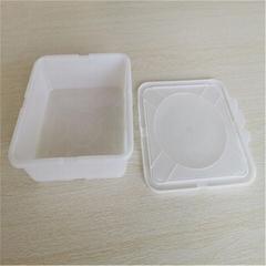 Disposable plastic box food box