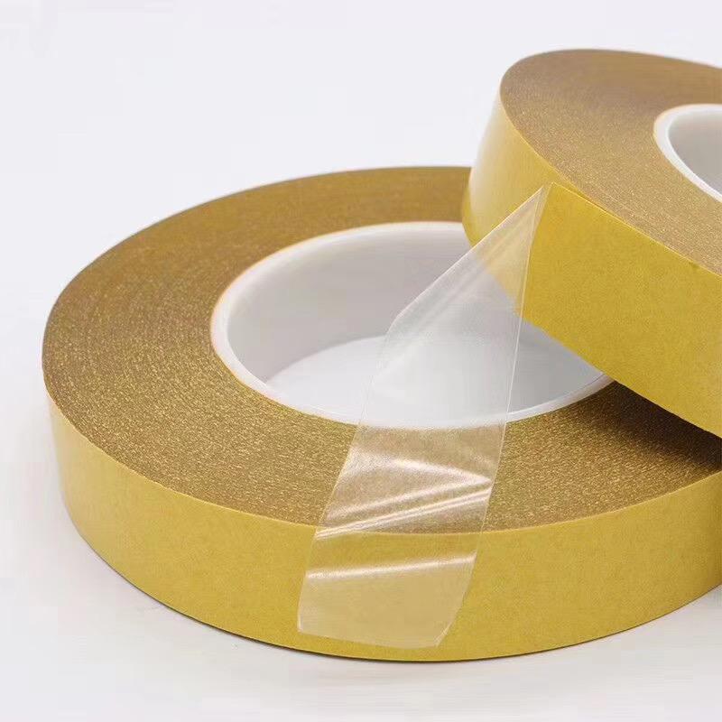 pet雙面膠帶黃格紙耐高溫電子模切0.2透明 1