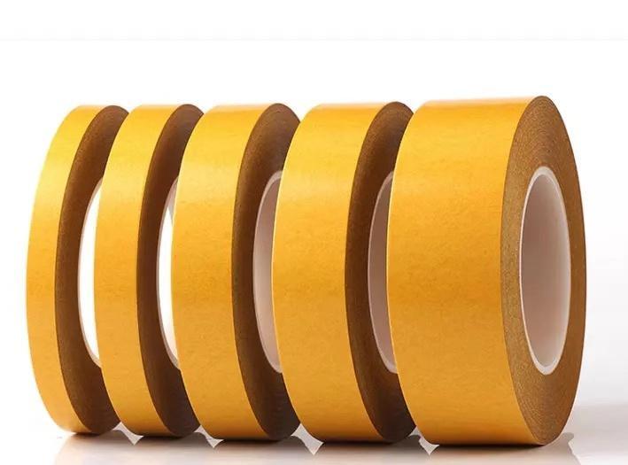 pet雙面膠帶黃格紙耐高溫電子模切0.2透明 5
