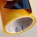 廠家直銷黑色pet雙面膠帶0.1厚度電子模切屏幕黑膠 1