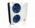空氣能熱泵天之意5P側出風生產
