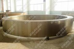 迴轉窯輪帶加工廠家能夠根據圖紙生產