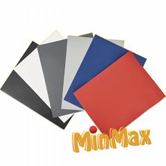 Solid color heat transfer vinyl-apparel craft decorators & garment manufacturers