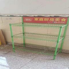 Convenient and light Storage rack portable shelf