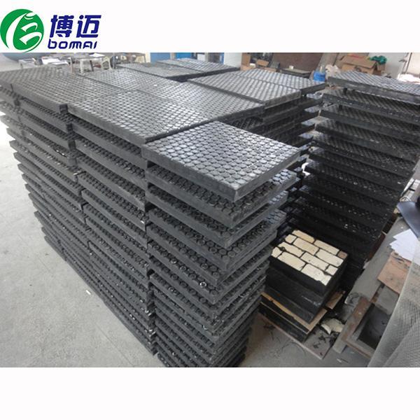 陶瓷橡膠復合板電廠鋼廠水泥廠選礦選煤廠專用 2