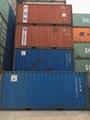 上海二手集装箱低价转让箱型齐全海运散货集装箱质量好成色新 2