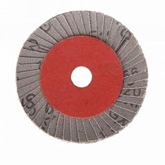 China supply korea flower flexible blue abrasive flap discs