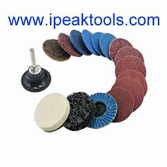 Factory supply 75mmm 3M surface conditioning non-wovquick change sanding disc