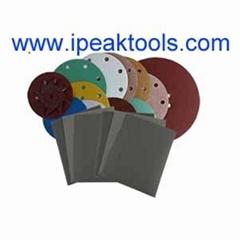 Purple ceramic sanding disc