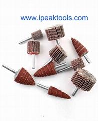 Good quality China Alumina oxide mounted flap wheel