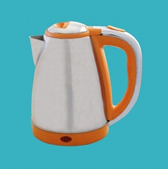 Orange colored plating 1.8L Electric Kettle
