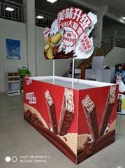 Supermarket Promotional Car Air Freshener Pallet Display Stand