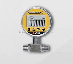 Digital differential pressure gauge switch