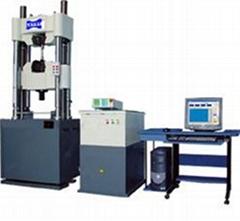 微机控制电液伺服三轴试验机