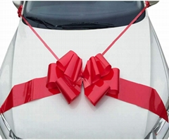 Car Bow Giant Pull Bow Decoation Flower in Wholesale Price