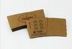 Reusable Cup Wraps,Printed Kraft Coffee Cup Sleeve
