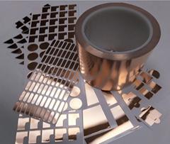Custom High Precision Cut To Shape Die Cut Copper Tape